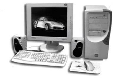 Большинство узлов и микросхем персонального компьютера размещены на